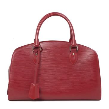 Louis Vuitton Red Epi  Pont Neuf PM