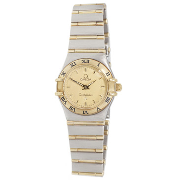 Omega 18K & Stainless Steel Ladies Constellation