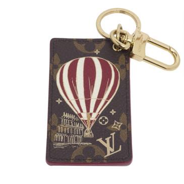 Louis Vuitton Monogram Illustre Air Balloon Key Holder and Bag Charm