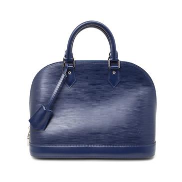 Louis Vuitton Blue Epi Alma PM