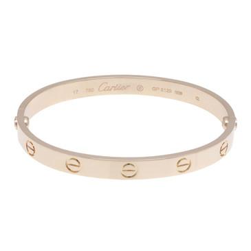 Cartier  18K Pink Gold Love Bracelet