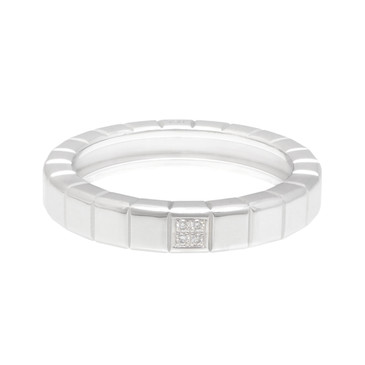 Chopard 18K White Gold & Diamond Ice Cube Ring