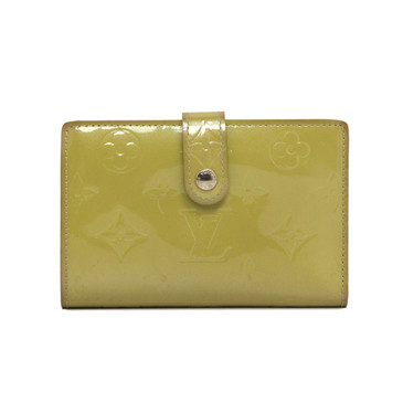 Louis Vuitton Olive Vernis French Wallet