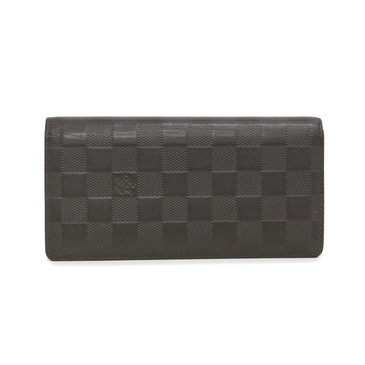 Louis Vuitton Granit Damier Infini Brazza Wallet