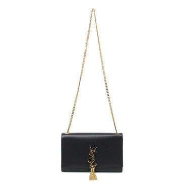 YSL Saint Laurent Classic Medium Kate Monogram Tassel Satchel