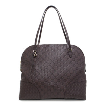 Gucci Brown Guccissima Medium Bree Shoulder Bag