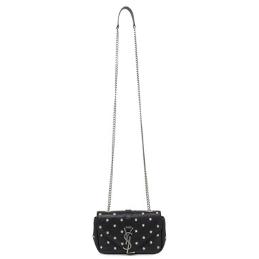 YSL Saint Laurent Monogram Flower Studded Baby Crossbody
