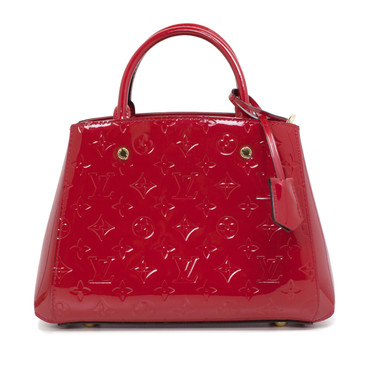 Louis Vuitton Cherry Vernis Montaigne BB