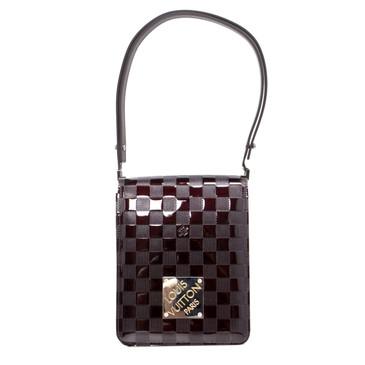 Louis Vuitton Amarante Damier Vernis Tall Cabaret Club Bag