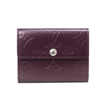Louis Vuitton Purple Monogram Mat Ludlow Wallet