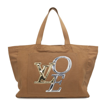 Louis Vuitton Canvas Thats Love GM Tote