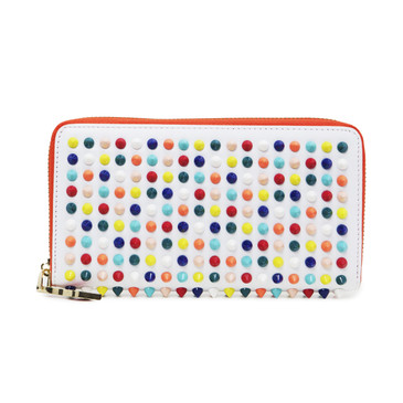 Christian Louboutin Multicolor Panettone Spiked Wallet