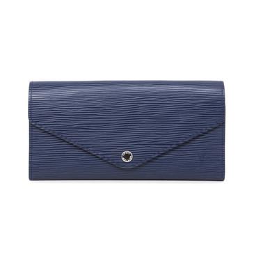 Louis Vuitton Indigo Epi Josephine Wallet