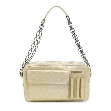 Louis Vuitton Gold Mini Lin Shine McKenna Bag