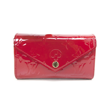 Louis Vuitton Cherry Vernis Lucie Pouch