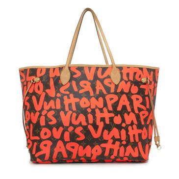 Louis Vuitton Stephen Sprouse Orange Monogram Graffiti Neverfull GM