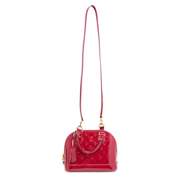 Louis Vuitton Cerise Vernis Alma BB