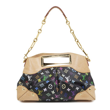 Louis Vuitton Black Multicolor Judy MM