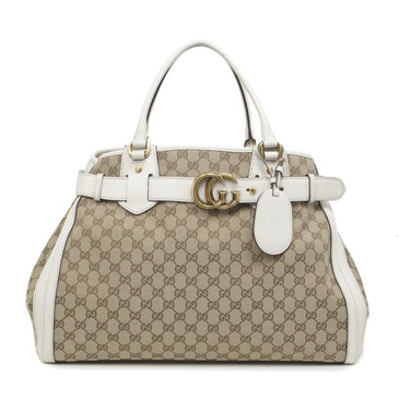 Gucci Monogram Canvas Large GG Running Tote