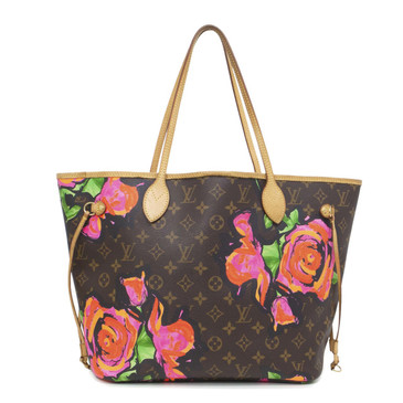 Louis Vuitton Monogram Stephen Sprouse Roses Neverfull MM