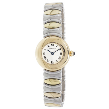 Cartier 18K & Stainless Steel Colisee Ladies Watch 1711