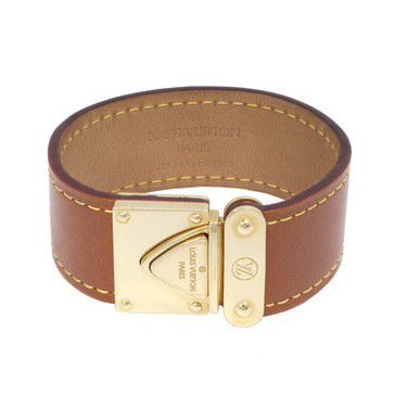 Louis Vuitton Caramel Nomade Leather Koala Bracelet