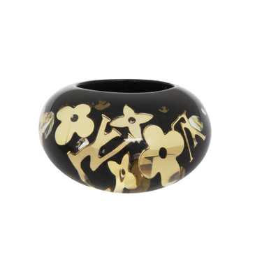Louis Vuitton Black Inclusion Ring