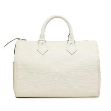 Louis Vuitton Ivory Epi Speedy 25