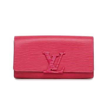Louis Vuitton Pink Epi Louise Wallet
