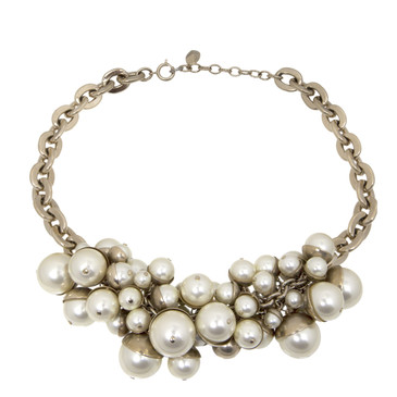 Christian Dior Pearl Mise en Dior Tribal Necklace