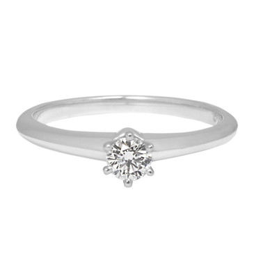 Tiffany & Co. 950 Platinum & Diamond Solitaire  Ring