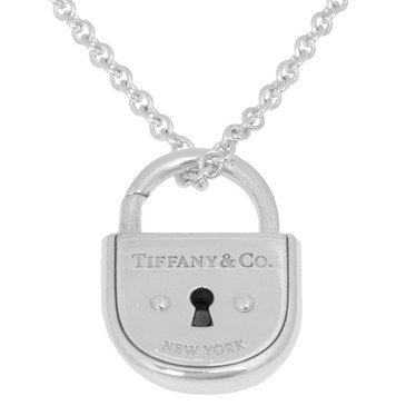 Tiffany & Co. Sterling Silver Arc Lock Pendant