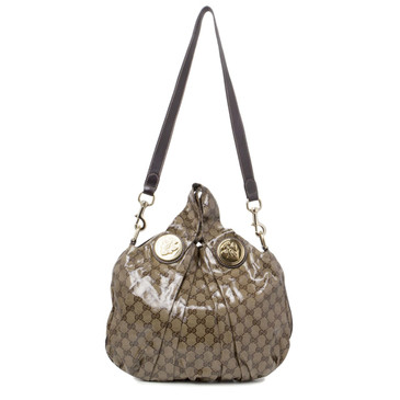 Gucci Crystal Canvas Hysteria Small Hobo Bag