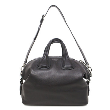 Givenchy Black Calfskin Medium Nightingale