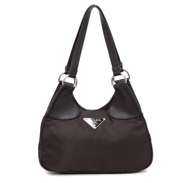 Prada Moro Tessuto Hamal Shoulder Bag