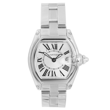 Cartier Stainless Steel Ladies  Roadster