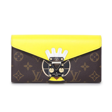 Louis Vuitton Limited Edition Juane Tribal Mask Sarah Wallet