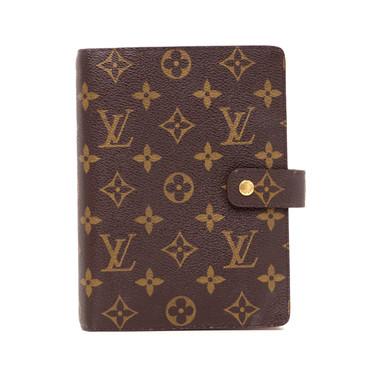 Louis Vuitton Monogram Medium Ring Agenda Cover