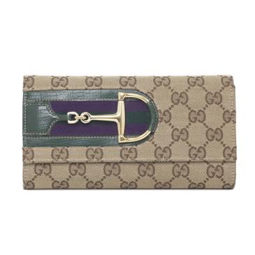 Gucci Monogram Hasler Wallet
