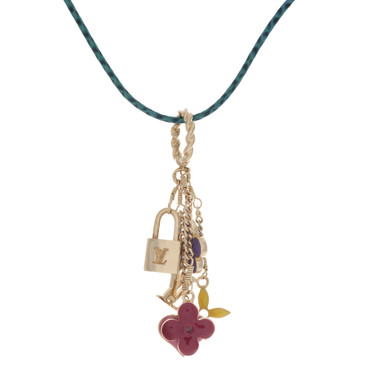 Louis Vuitton Sweet Monogram Charm Necklace