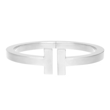 Tiffany & Co. Sterling Silver T Square Bracelet
