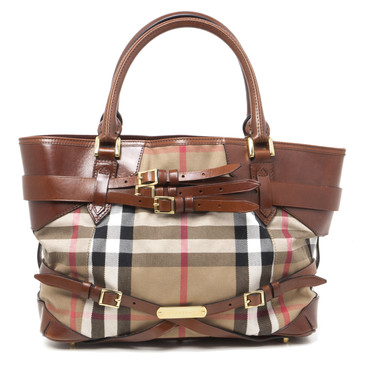 Burberry Bridle House Check Lynher Tote