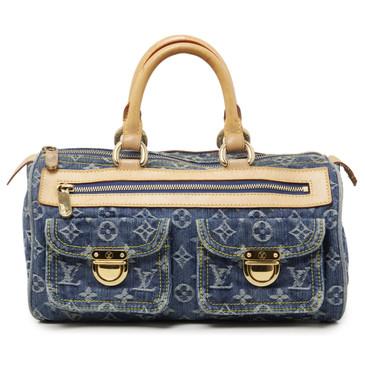 Louis Vuitton Blue Monogram Denim Neo Speedy