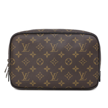 Louis Vuitton Monogram Macassar Toilet Pouch  GM