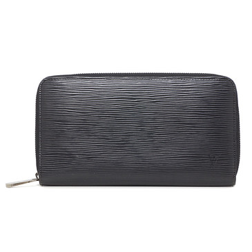 Louis Vuitton Black Epi Zippy   Organizer