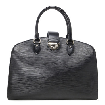 Louis Vuitton Black Epi Pont-Neuf GM