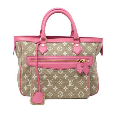 Louis Vuitton Rose Monogram Sabbia Cabas MM