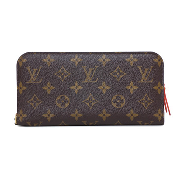 Louis Vuitton Monogram Orange Insolite Wallet