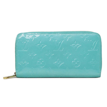 Louis Vuitton Aqua Vernis Zippy Wallet