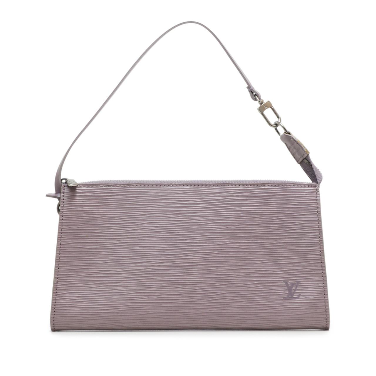 Louis Vuitton Lilac Epi Pochette Accessoires 24 4b7f9ab84df1a